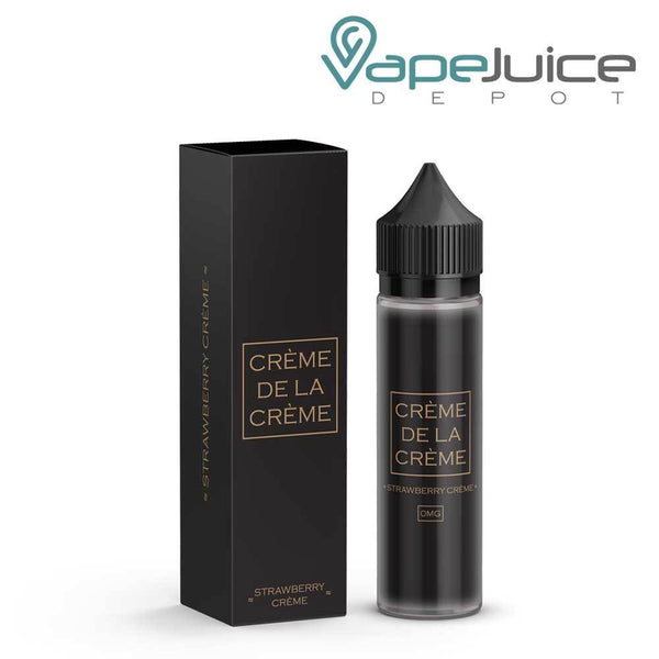 Creme De La Creme Strawberry Creme e-Liquid 60ml - VapeJuiceDepot