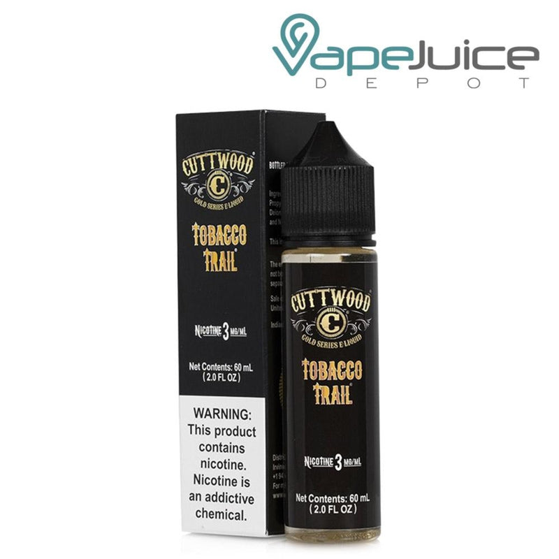 Cuttwood Gold Series Tobacco Trail eLiquid - VapeJuiceDepot