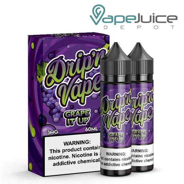 Drip N Vape Grape It Up - VapeJuiceDepot