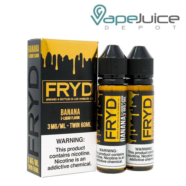 FRYD Banana eLiquid 120ml - Vape Juice Depot