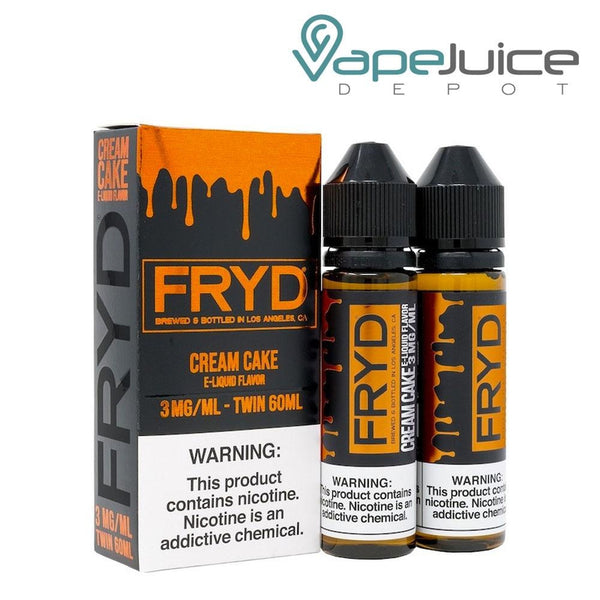 FRYD Cream Cake eLiquid 120ml - Vape Juice Depot