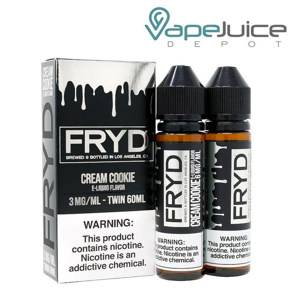 FRYD Cream Cookie eLiquid 120ml - Vape Juice Depot