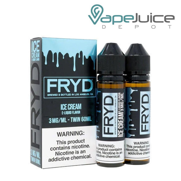 FRYD Ice Cream eLiquid 120ml - Vape Juice Depot
