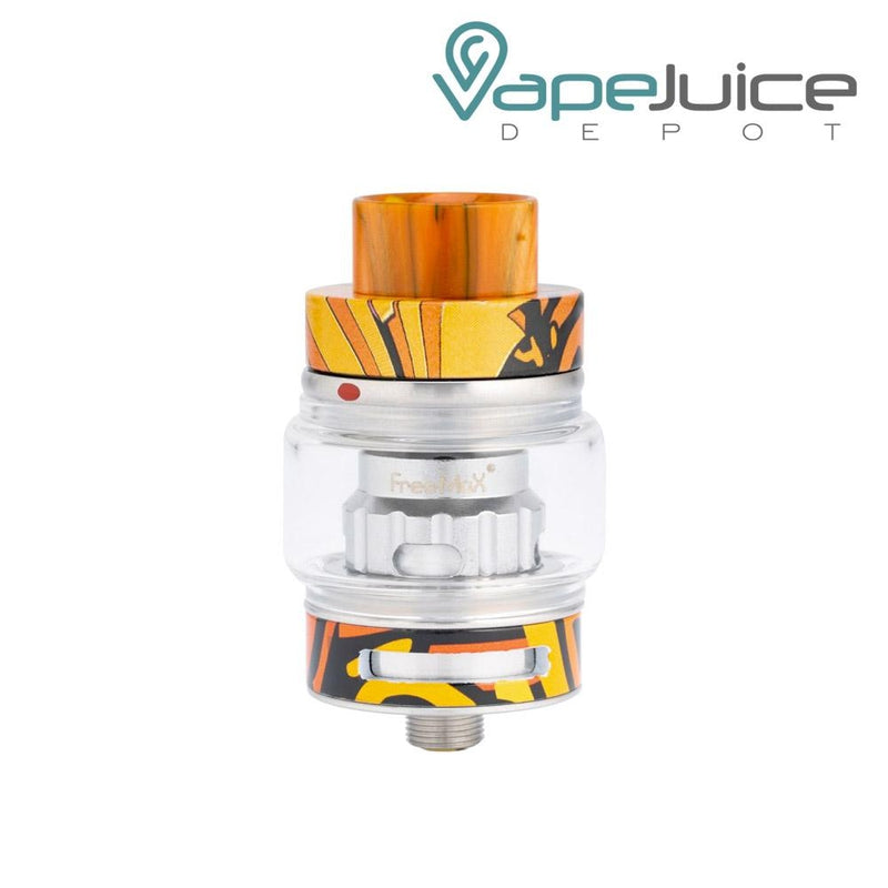 FreeMax FireLuke 2 Sub Ohm Tank Graffiti Orange - Vape Juice Depot