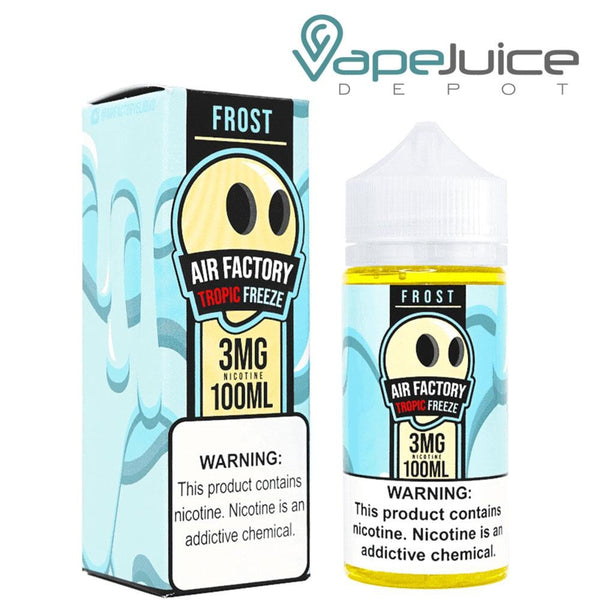Frost Factory Tropical Freeze e-Liquid ❄️ 100ml - FREE Shipping