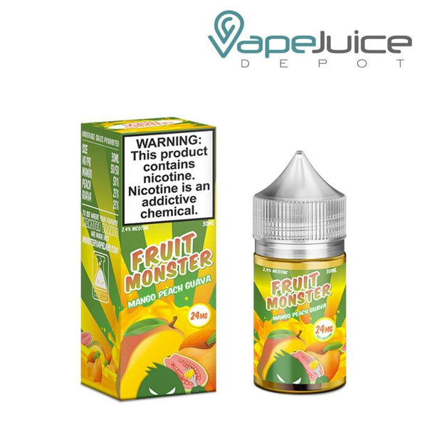 Fruit Monster Salts Mango Peach Guava 30ml - Vape Juice Depot