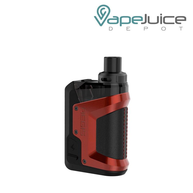 GeekVape Aegis Hero Pod Kit Red - Vape Juice Depot