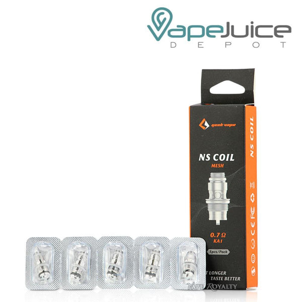 GeekVape NS Replacement Coils - VapeJuiceDepot