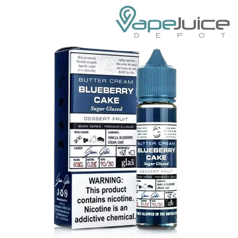 Basix Series Blueberry Cake 60ml - Vape Juice Depot