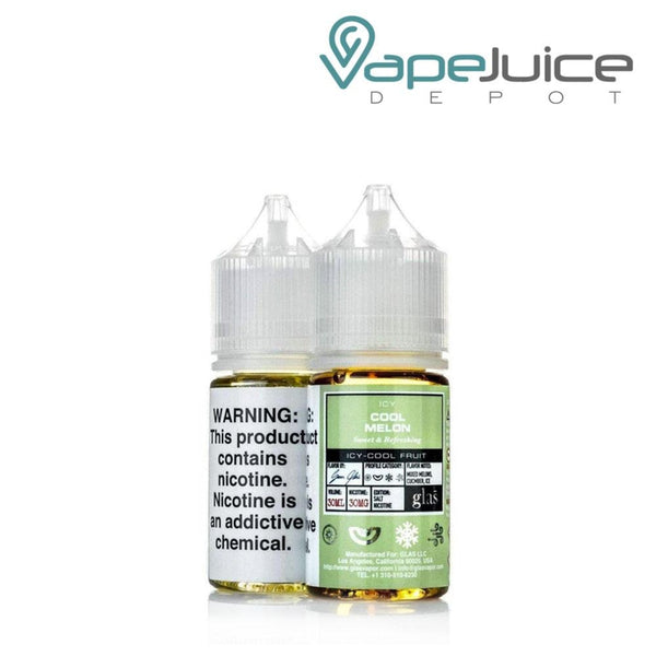 Glas Basix Salts Icy Cool Melon - Vape Juice Depot