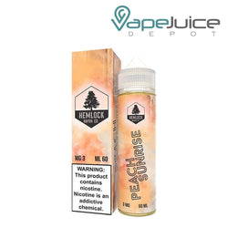 Hemlock Vapor Co Peach Sunrise e-Liquid 60ml - VapeJuiceDepot