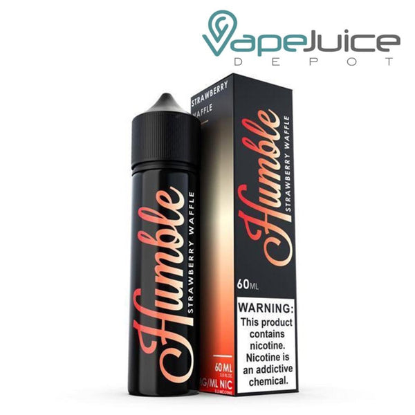 Humble Strawberry Waffle eLiquid 60ml - Vape Juice Depot