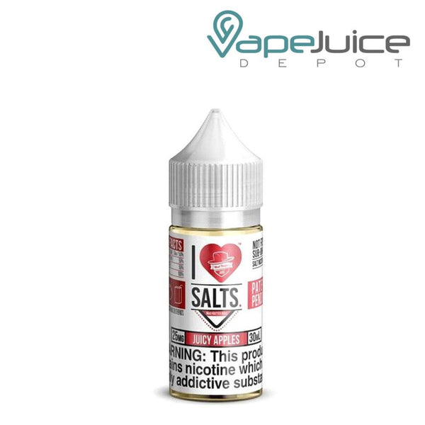 I Love Salts Juicy Apples e-Liquid - VapeJuiceDepot