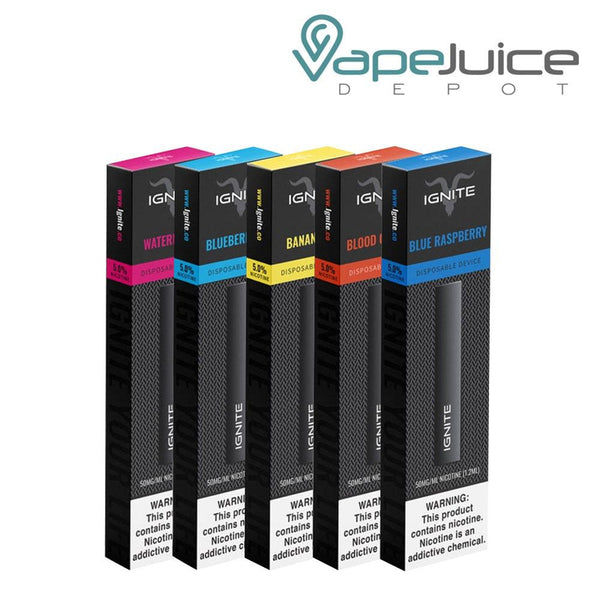 IGNITE Disposable Vape Pen - Vape Juice Depot