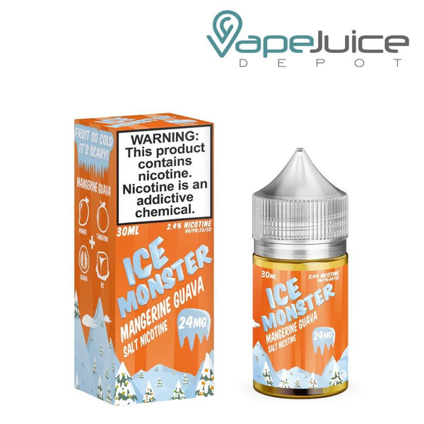 Ice Monster Mangerine Guava Nicotine Salt 30ml - Vape Juice Depot