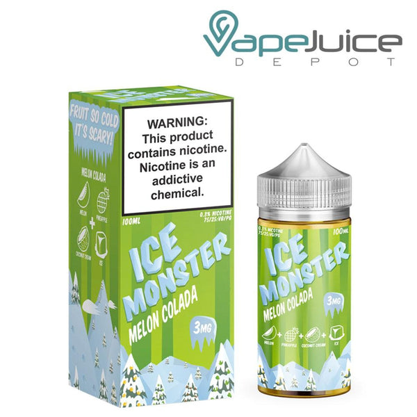 Ice Monster Melon Colada 100ml - Vape Juice Depot