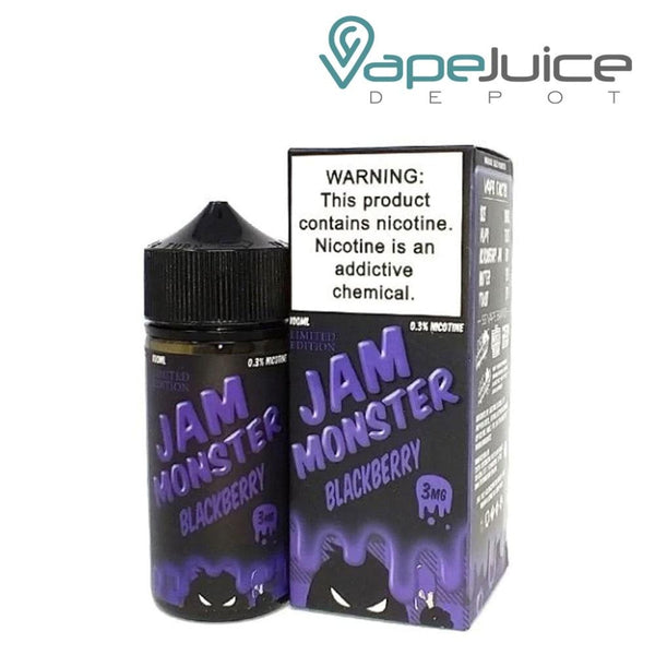 Jam Monster Blackberry eLiquid 100ml - VapeJuiceDepot