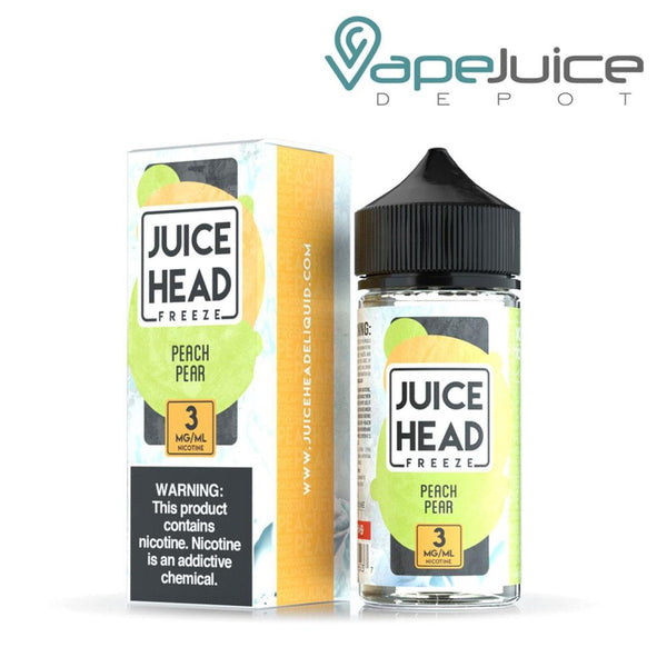 Juice Head Freeze Peach Pear 100ml - Vape Juice Depot