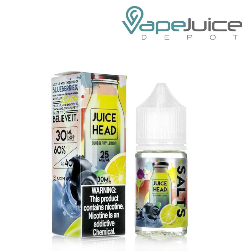 Juice Head Salts Blueberry Lemon eLiquid - Vape Juice Depot