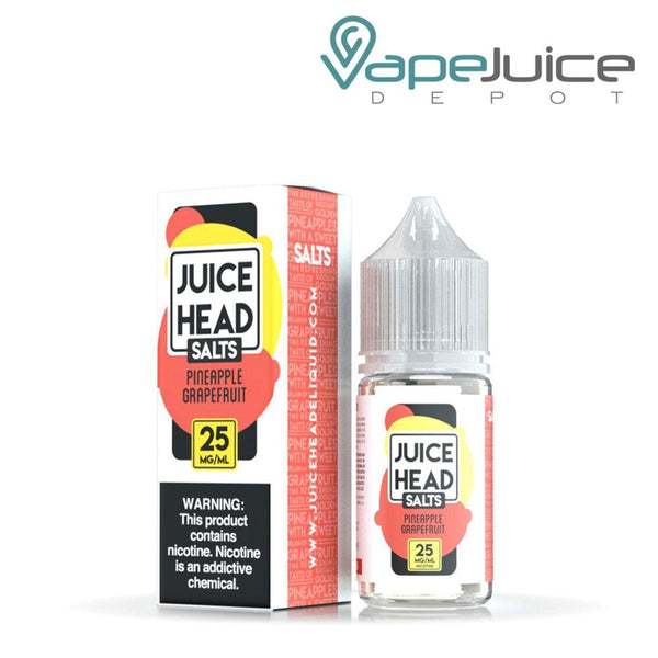 Juice Head Salts Pineapple Grapefruit 30ml - Vape Juice Depot