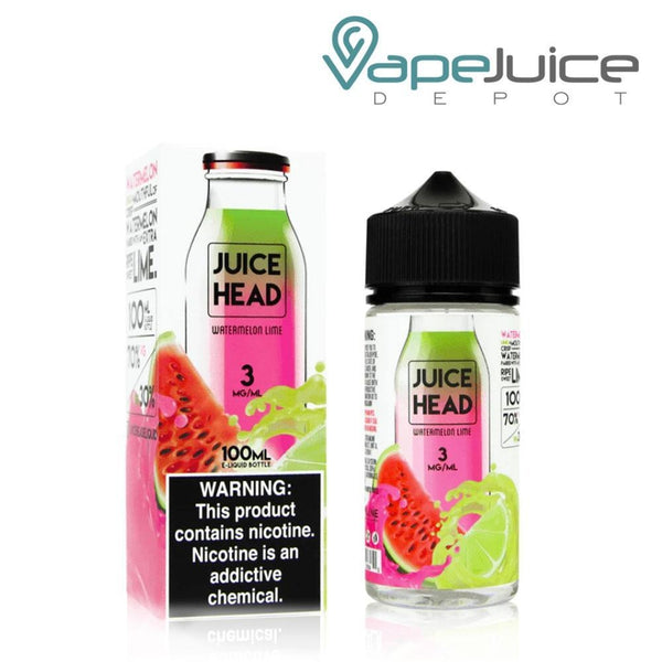 Juice Head Watermelon Lime 100ml - Vape Juice Depot