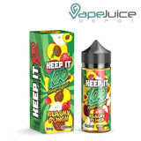 Keep it 100 Peachy Punch e-Liquid 100ml - VapeJuiceDepot