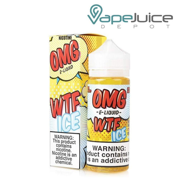 Kilo OMG WTF Ice Strawberry Sourbelt Menthol ❄️120ml - VapeJuiceDepot