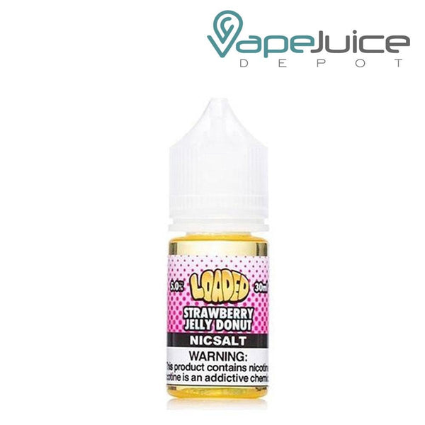 Loaded Salts Strawberry Jelly Donut - VapeJuiceDepot