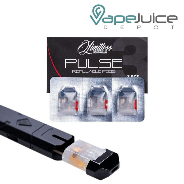 Limitless Pulse PLY ROCK Replacement Refillable PODS