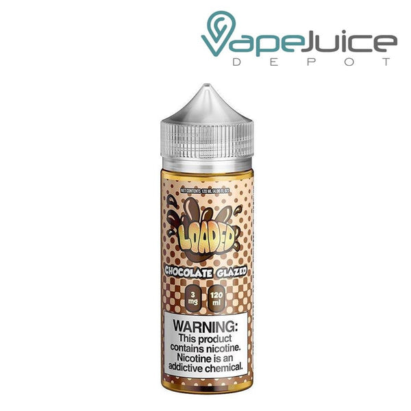 LOADED Chocolate Glazed eLiquid 120ml - Vape Juice Depot