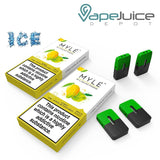 MYLE Iced Apple Mango Pods - Vape Juice Depot