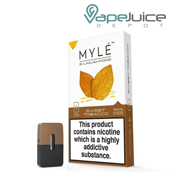 MYLE Sweet Tobacco Pods - VapeJuiceDepot