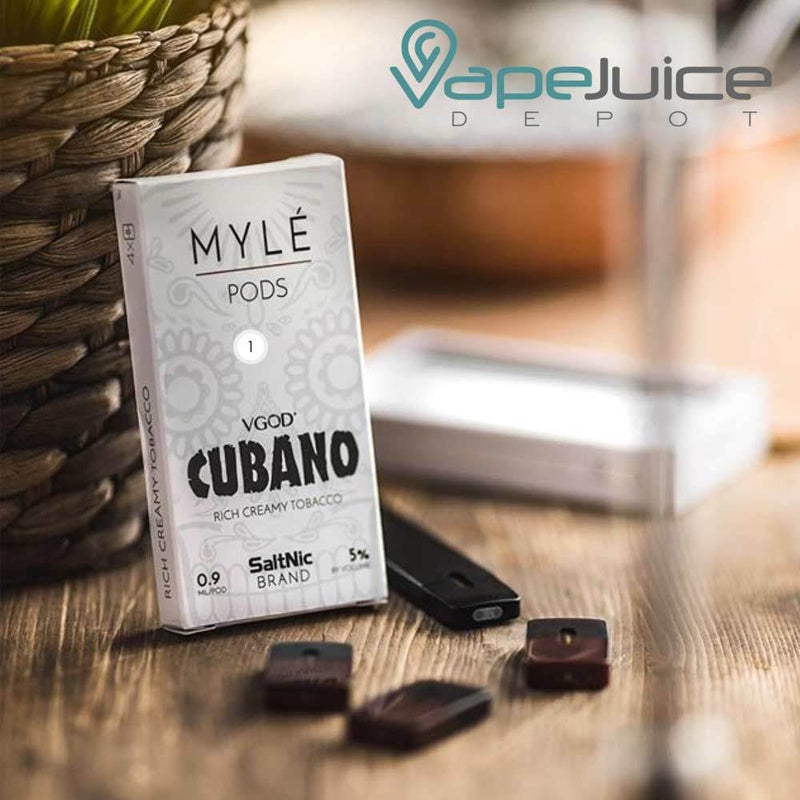 MYLE Pods VGOD Cubano | Pack of 4 - Vape Juice Depot