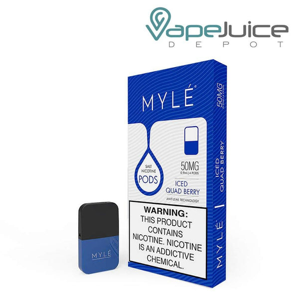 MYLE Pods V4 Iced Quad Berry NOT FOR SALE IN US - Vape Juice Depot