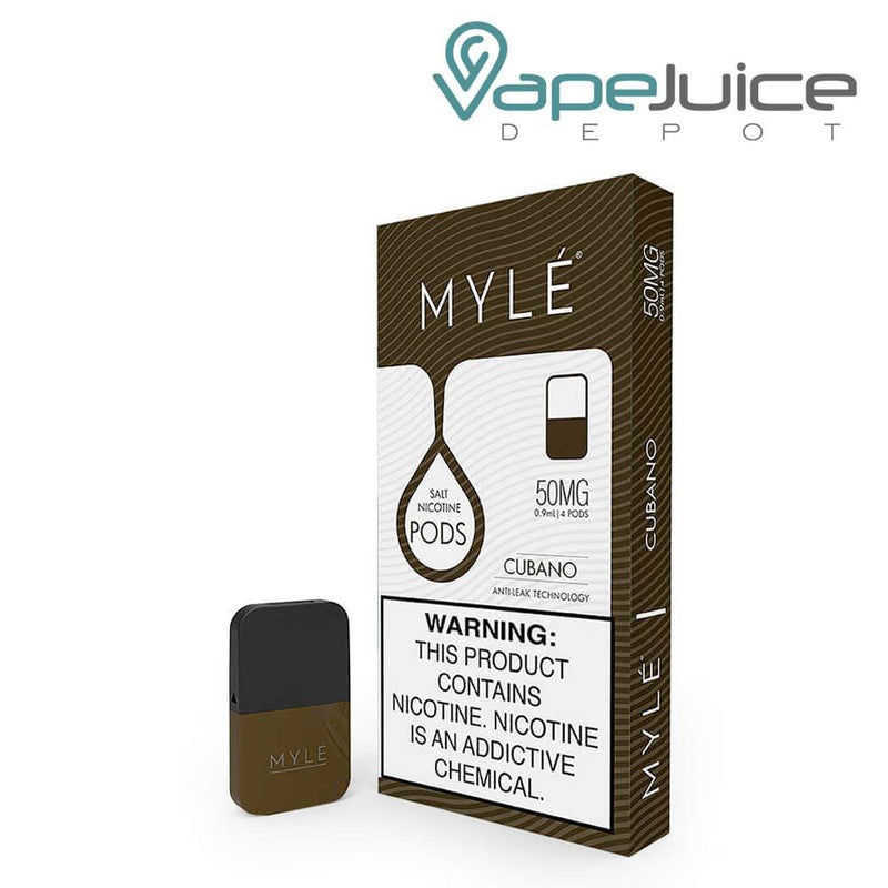MYLE Pods V4 VGOD Cubano NOT FOR SALE IN US - Vape Juice Depot