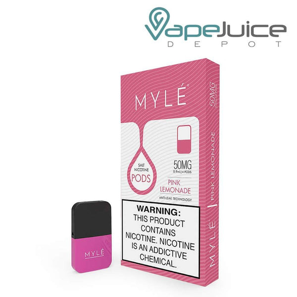 MYLE Pods V4 Pink Lemonade NOT FOR SALE IN US - Vape Juice Depot