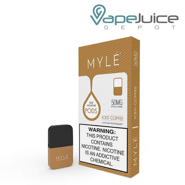 MYLE Pods V4 Iced Coffee NOT FOR SALE IN US - Vape Juice Depot
