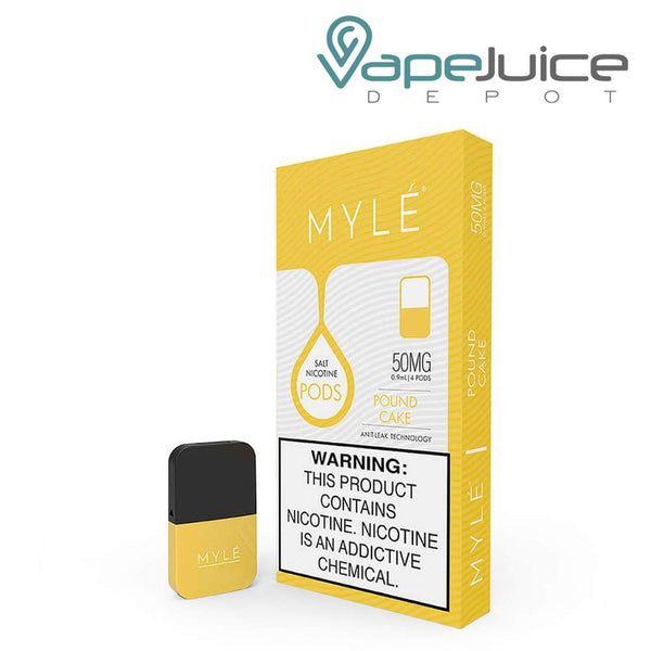 MYLE Pods V4 Pound Cake NOT FOR SALE IN US - Vape Juice Depot