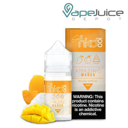 NKD 100 Salt Amazing Mango eLiquid 30ml - VapeJuiceDepot