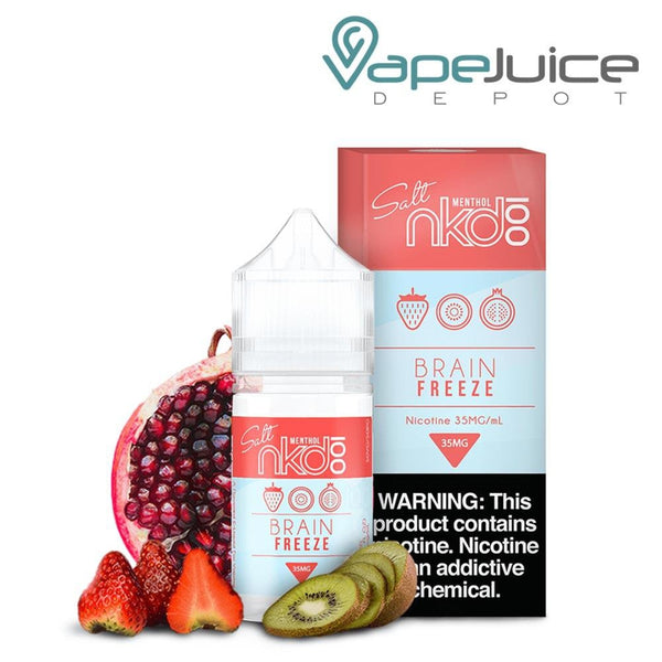 NKD 100 Salt Brain Freeze eLiquid 30ml - VapeJuiceDeot