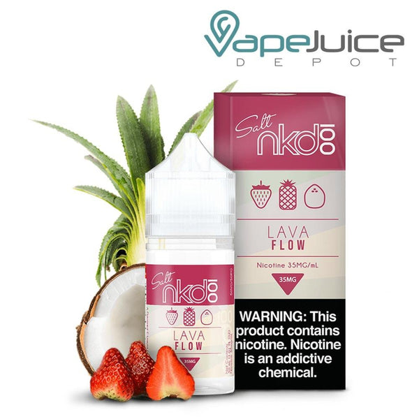 NKD 100 Salt Lava Flow eLiquid 30ml - VapeJuiceDepot