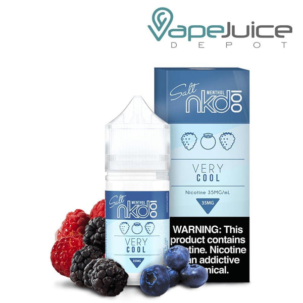 NKD 100 Salt Menthol Very Cool eLiquid 30ml - VapeJuiceDepot