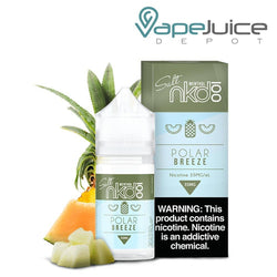 NKD 100 Salt Polar Breeze eLiquid 30ml - VapeJuiceDepot