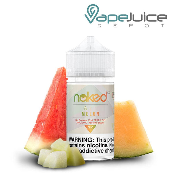 Naked 100 All Melon eLiquid - Vape Juice Depot