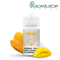 Naked 100 Amazing Mango e-Liquid 60ml - VapeJuiceDepot