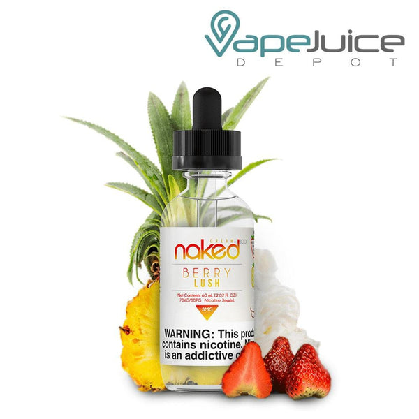 Naked 100 Berry Lush e-Liquid 60ml - VapeJuiceDepot