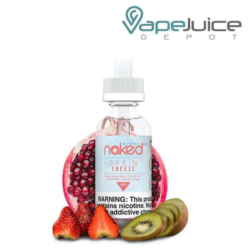 Naked 100 Brain Freeze e-Liquid 60ml - VapeJuiceDepot