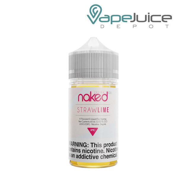 Naked 100 Straw Lime eLiquid - Vape Juice Depot