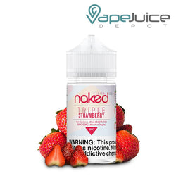 Naked 100 Fusion Triple Strawberry 60ml - VapeJuiceDepot
