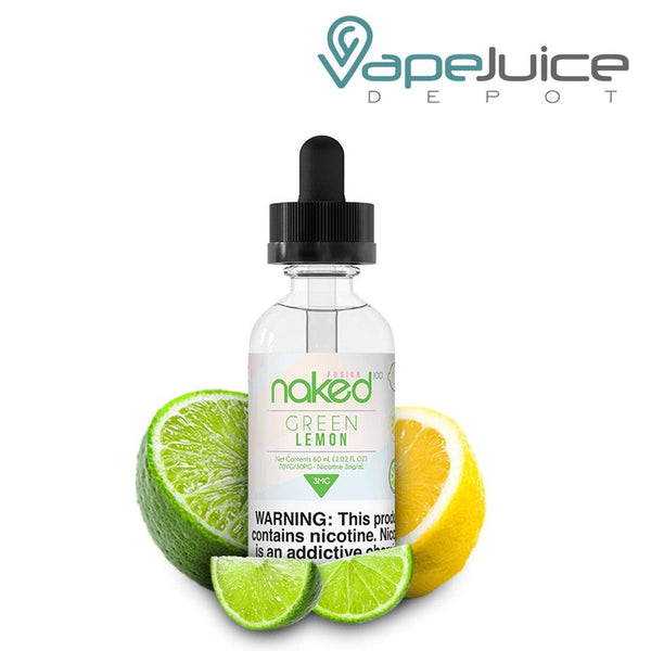 Naked 100 Fusion Green Lemon eLiquid 60ml - VapeJuiceDepot